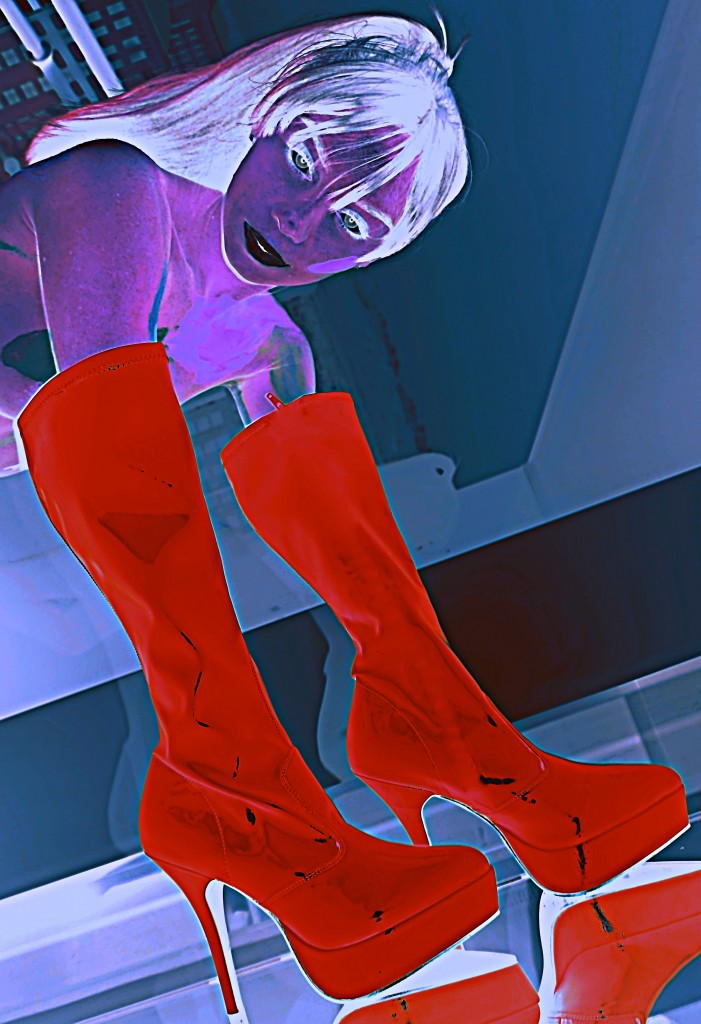 Boot Glove Red