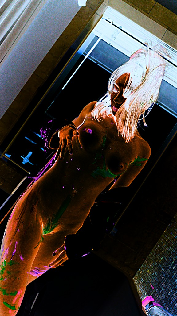 Capri Anderson glowing naked