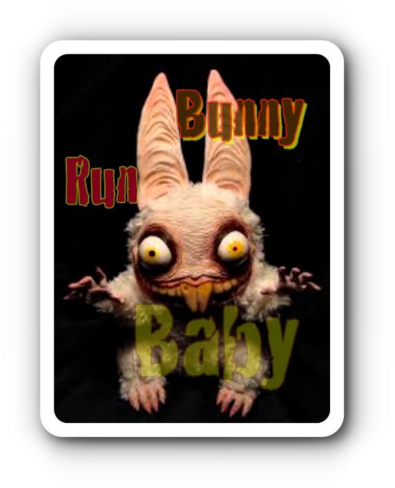Trippy Monster Bunny