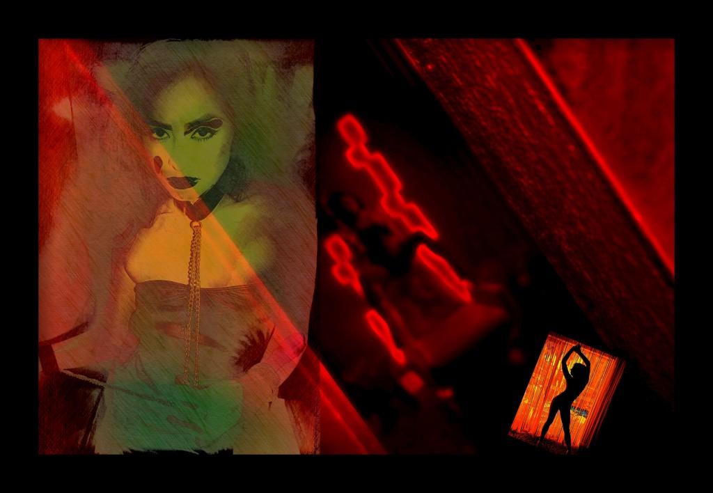 Celebrity Killer Hallucinogenic Art
