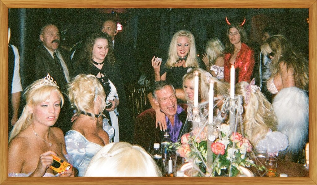 The VinTAGE's - HuGH HEFNER - PLayBoy ManSioN - HaLLoWEEN PARTY.  Photo Take by The Caravaggio RC.